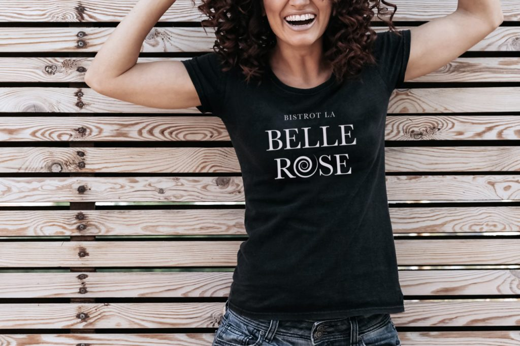 Tee shirt Bistrot La Belle Rose