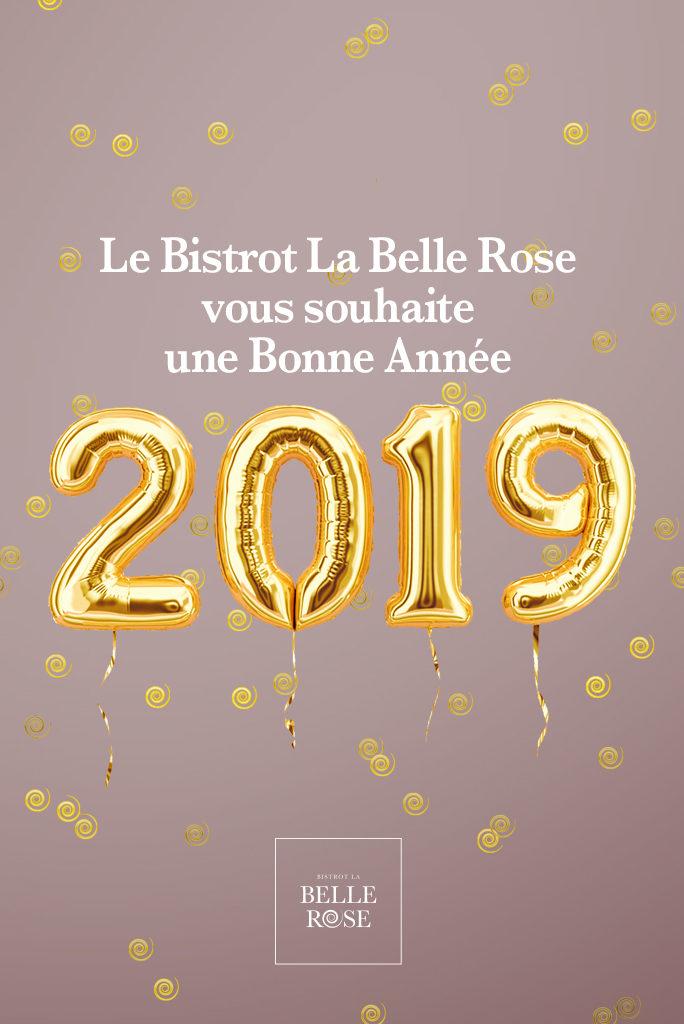 Bistrot La Belle rose Bonne Année