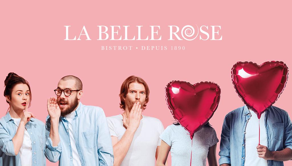 Saint-Valentin Bistrot La Belle Rose