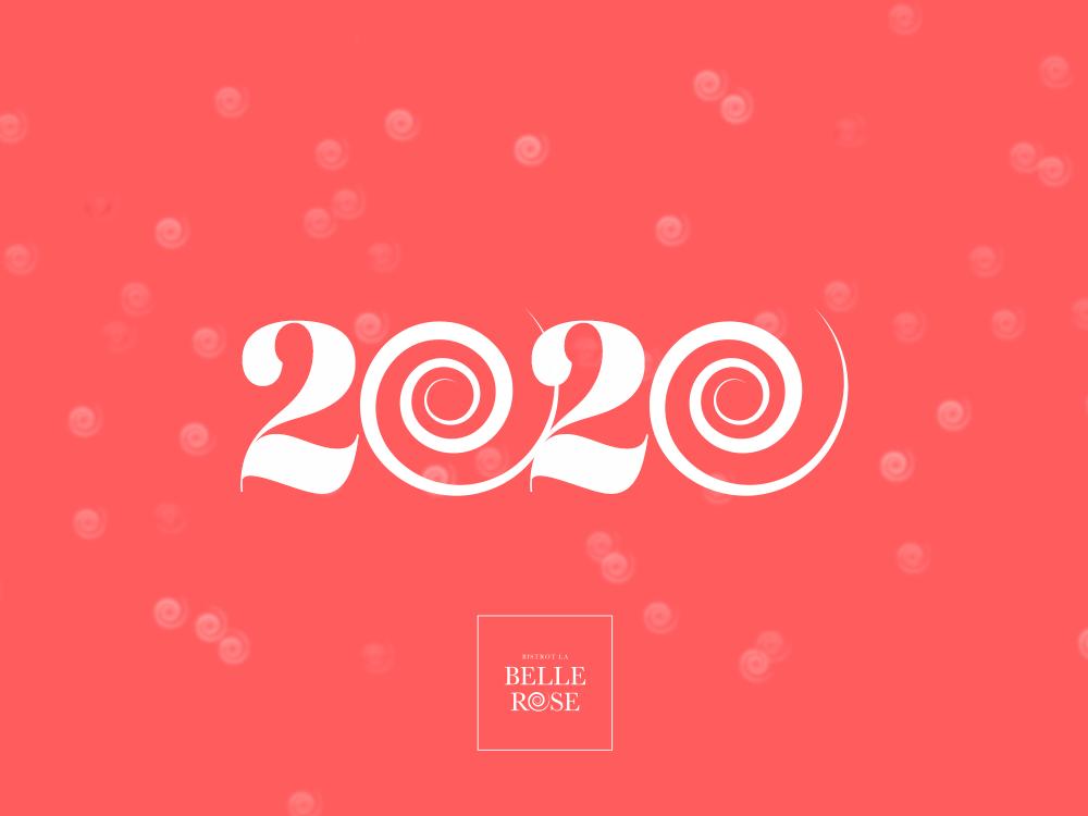 voeux 2020 Bistrot La Belle Rose