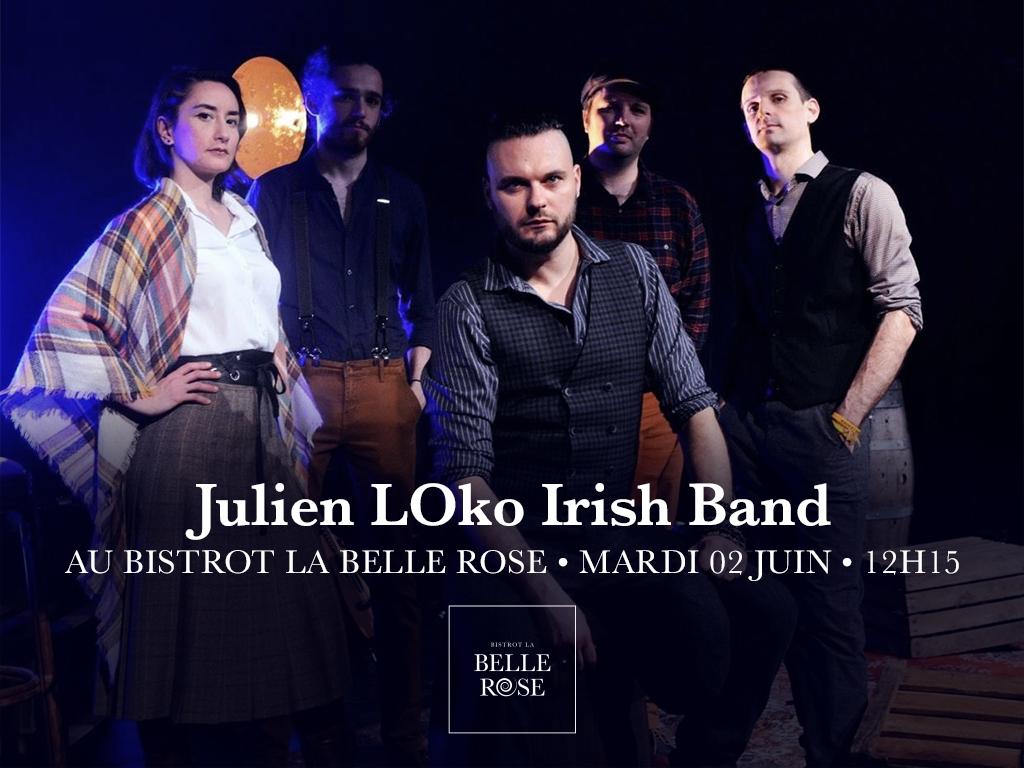 Julien Loko Bistrot La Belle Rose